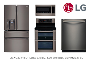 LG 4-Piece Diamond Collection Appliance Package
