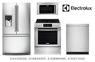 Electrolux IQ-Touch Series 4-Piece Kitchen Appliance Package