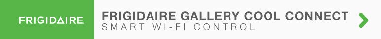 Frigidaire gallery smart control cool connect wi-fi enabled air conditioning air conditioners
