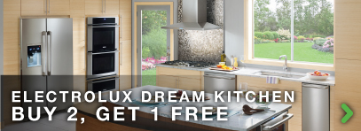 Electrolux Top Rated Kitchen Appliance Package Rebate Free Dishwasher