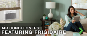Air conditioners featuring Frigidaire air conditioning