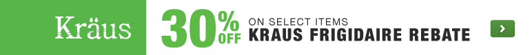 Kraus kitchen bathroom sinks faucets savings